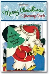 Vintage Christmas Cards Packet