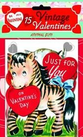 Zany Valentines 15 Die Cut Valentines