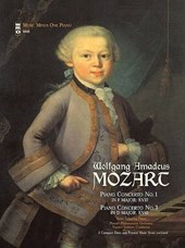Mozart - Piano Concerto No. 1 in F Major, KV37; Piano Concerto No. 3 in D Major, KV40
