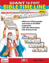 Classroom Giant 10 Foot Bible Time Line | Rose Publishing |