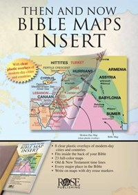 Then and Now Bible Maps Insert | auteur onbekend |