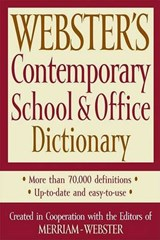 Webster's Contemporary School & Office Dictionary | auteur onbekend |
