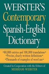 Webster's Contemporary Spanish-English Dictionary |  |