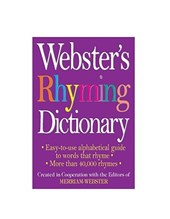Webster's Rhyming Dictionary |  |