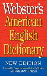 Webster's American English Dictionary |  |