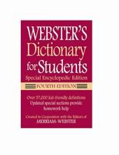Webster's Dictionary for Students, Special Encyclopedic Edition |  |