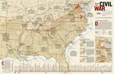 Battles of the Civil War [Laminated] | National Geographic Maps  Reference |