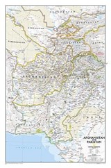 Afghanistan, Pakistan [Laminated] | National Geographic Maps |