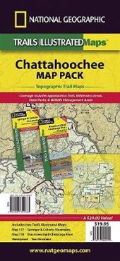 Chattahoochee National Forest [Map Pack Bundle] | National Geographic Maps  Trails Illust |
