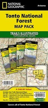 Tonto National Forest [map Pack Bundle] | National Geographic Maps  Trails Illust |