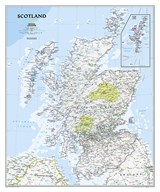 Scotland Classic [Laminated] | National Geographic Maps |
