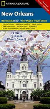 National Geographic Destination City Map New Orleans