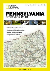 Pennsylvania Recreation Atlas | National Geographic Maps |