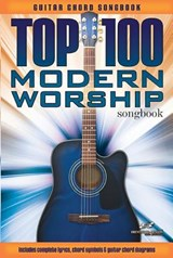 Top 100 Modern Worship Songs Guitar Book (Songbook) | auteur onbekend |