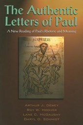 The Authentic Letters of Paul |  |