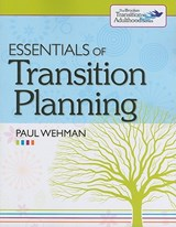 Essentials of Transition Planning | Paul Wehman |