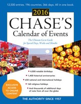 Chase's Calendar of Events |  |