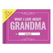 Knock Knock What I Love About Grandma Fill in the Love Journ