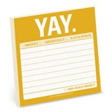 Yay Sticky Notes |  |