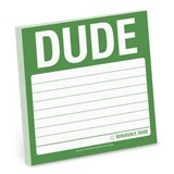 Dude Sticky Notes |  |