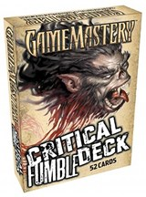 Pathfinder Cards: Critical Fumble Deck | auteur onbekend |