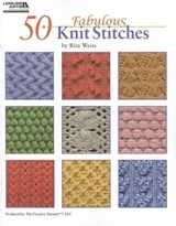 50 Fabulous Knit Stitches | WEISS,  Rita |