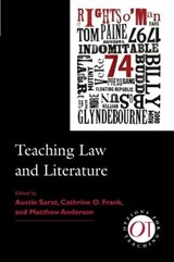 Teaching Law and Literature | Cathrine O. Frank; Matthew Anderson |