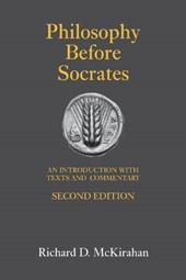 Philosophy Before Socrates