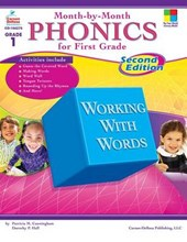 Month-by-Month Phonics for First Grade | Cunningham, Patricia M. ; Hall, Dorothy P. |