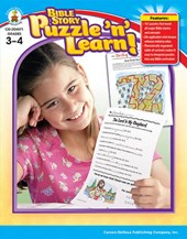 Bible Story Puzzle 'n' Learn!, Grades 3 -
