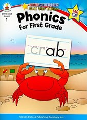 Phonics for First Grade, Grade 1