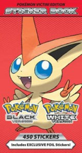 Pokemon Sticker Book | Press Pikachu |