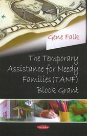 The Temporary Assistance for Needy Families Tanf Block Grant