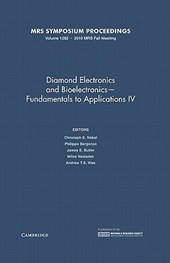 Diamond Electronics and Bioelectronics Fundamentals to Applications IV