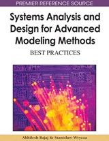 Systems Analysis and Design for Advanced Modeling Methods | auteur onbekend |