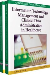 Handbook of Research on Information Technology Management and Clinical Data Administration in Healthcare, 2-Volume Set | auteur onbekend |