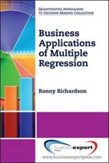 Business Applications of Multiple Regression | Ronny Richardson |