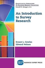 An Introduction to Survey Research | Cowles, Ernest ; Nelson, Edward |