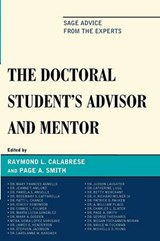 The Doctoral Student's Advisor and Mentor | Raymond L. Calabrese |