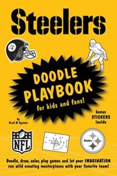 Steelers Doodle Playbook for Kids and Fans!
