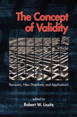 The Concept of Validity | auteur onbekend |