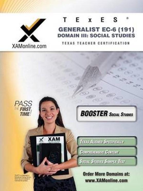 TExES Generalist EC-6 191 Social Studies