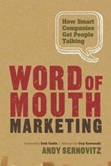 Word of Mouth Marketing | Andy Sernovitz |