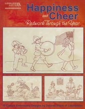 Happiness & Cheer, Redwork Through the Year | Dolores Storm |