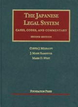Japanese Legal System | Curtis M. West |