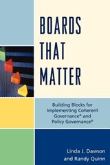 Boards That Matter | Dawson, Linda J. ; Quinn, Randy |