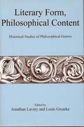 Literary Form, Philosophical Content