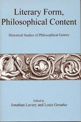 Literary Form, Philosophical Content |  |