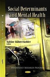 Social Determinants and Mental Health