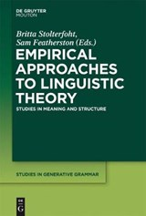 Empirical Approaches to Linguistic Theory | auteur onbekend |